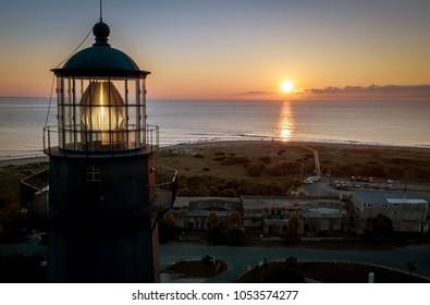 Tybee Island Lighthouse at Sunrise