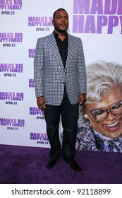 """Tyler Perry at the Los Angeles Screening of """"Tyler Perry's Madea's Big Happy Family."""" Arclight Theater, Hollywood, CA. 04-19-11"""