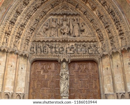 The tympanum and the