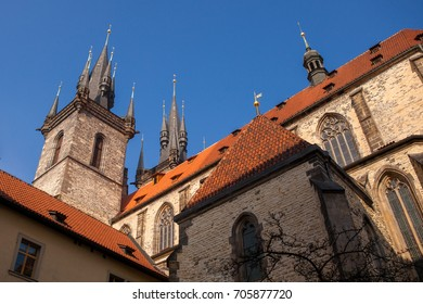 Tyn Church, Prague, Czech Republic.