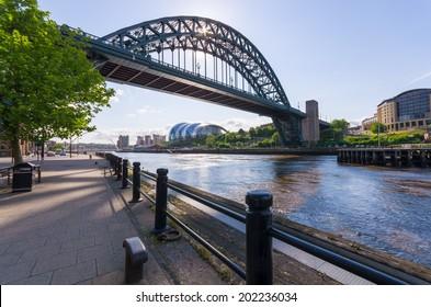 Tyne Bridge At Newcastle upon Tyne. UK