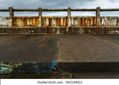 Tynemouth disused swimming pool. Old swimming pool at Longsands Tynemouth, North Tyneside, England, UK. Once busy and popular Swimming Pool that was filled with fresh sea water each new high tide.
