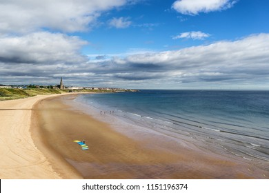 Tynemouth Longsands beach in the North East of England
