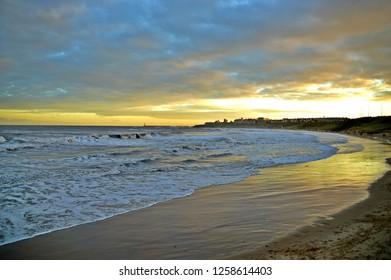 Tynemouth Longsands Sunset