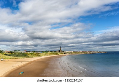 Tyneside Longsands beach in Northumberland