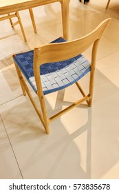 type of chair for the home, note shallow depth of field