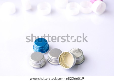 Type Closures Bottle Can On White Stock Photo (Edit Now) 682366519