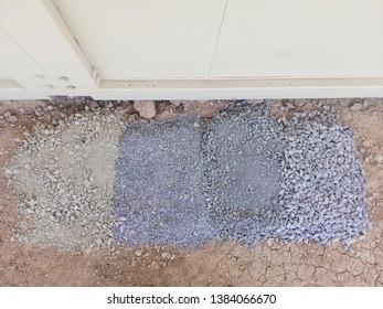 type of gravel, gravel for landscape.