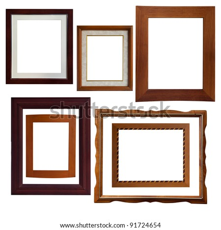 Type Isolate Wood Frame Stock Photo (Edit Now) 91724654 - Shutterstock