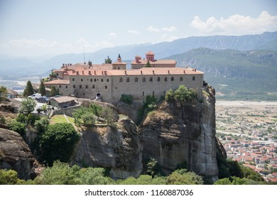 Types of Greece. Rock monasteries of Meteora