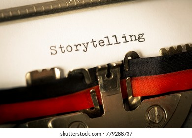 "Typewriter vintage ""Storytelling"""