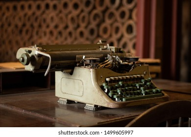 Typewriters were indispensable tools in offices around the world since the late 19th century and almost the entire 20th century Photo: Sapucai Railway Museum
