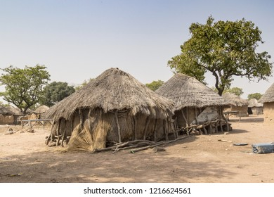 typical african village in ghana
