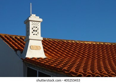 Typical of the Algarve chimney, Portugal