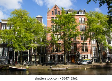 Typical Amsterdam architecture