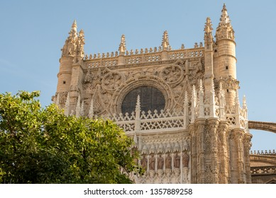 Typical architecture of Sevilla, Spain
