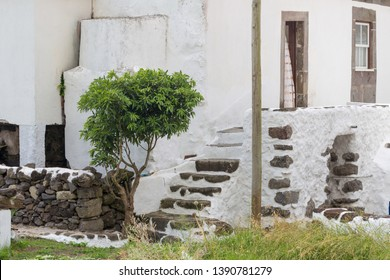 Typical azorean house in Fajã Grande, Flores island, Azores, Portugal