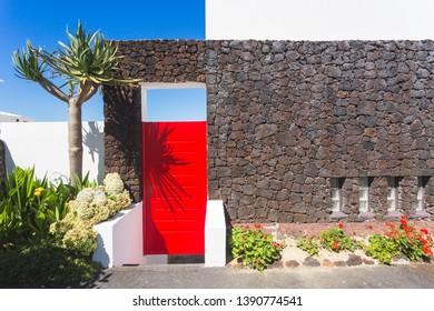 Typical Azorean house,  Sao Miguel island, Portugal, Azores archipelago