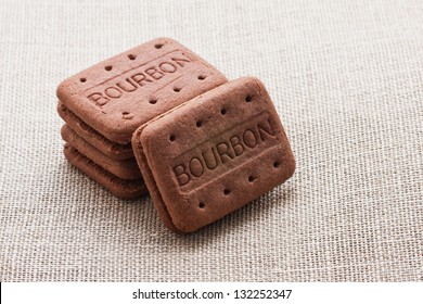Typical bourbon cookies