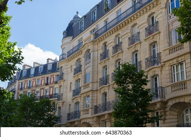 Typical buildings from Paris
