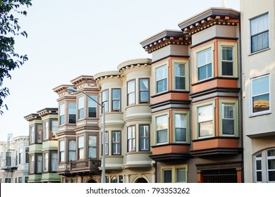 Typical buildings in San Francisco.