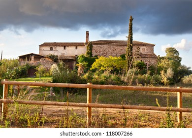 Typical Catalan Country farmhouse