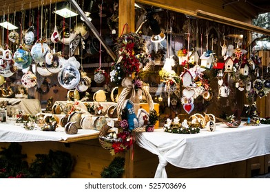 Typical Christmas market in Alto Adige in Italy