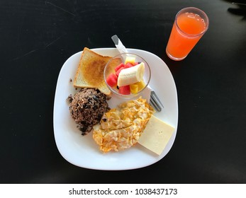 Typical Costa Rican Breakfast