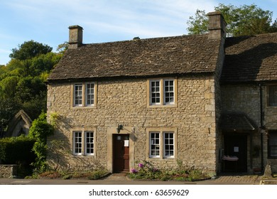 Typical Cotswolds cottage in Castle Combe, Cotswolds region in England