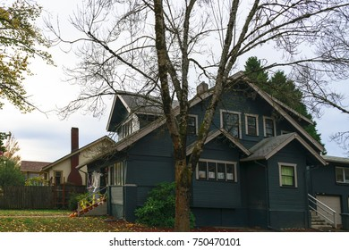Typical Craftsman style home in Eugene Oregon