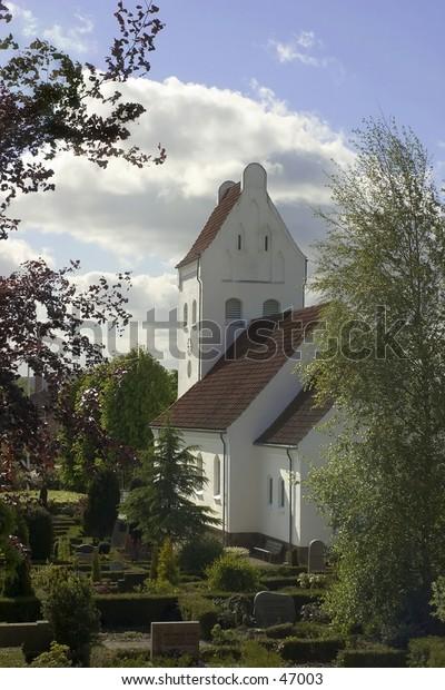 Typical danish church