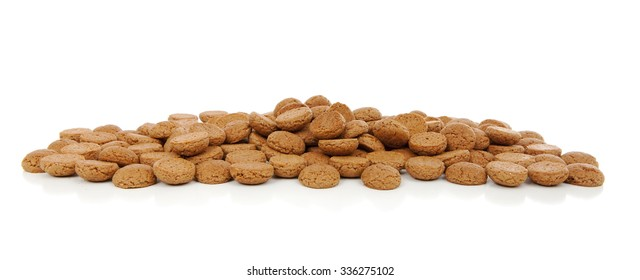 Typical Dutch sweets: pepernoten (ginger nuts) for Sinterklaas; celebration at 5 december in the Netherlands
