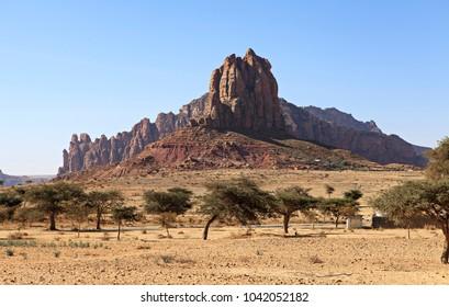 typical ethiopian landscape