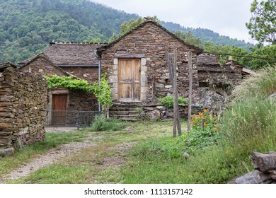 Typical farmhouse in the Ardeche district in Southern France
