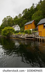 Typical Fisher Houses in Norway