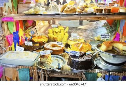 Typical foods of hillbilly June Festival - Brazilian culture