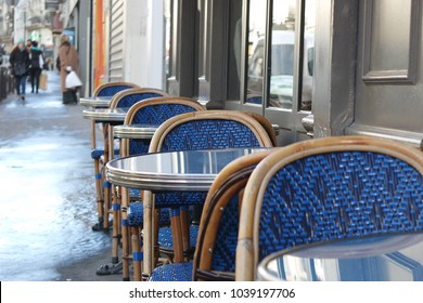 Typical french bistro