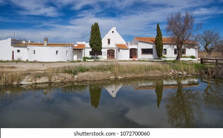 Typical Gardian house in Saintes Maries de la Mer - Camargue - Provence - France