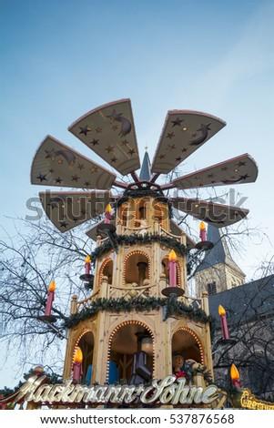 typical german christmas pyramid street german christmas market traditional pyramid europe traditional celebration of