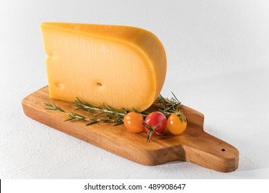 Typical Gouda cheese