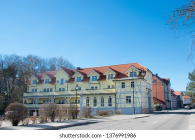 Typical historic houses in the city centre of Wernigerode, Harz, Germany