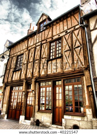 Typical house in Amboise