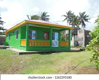 typical house architecture Big Corn Island Nicaragua Central America