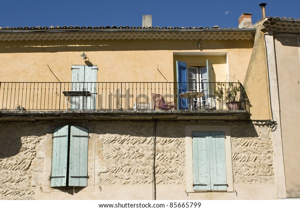 Typical house in french Village. Provence.