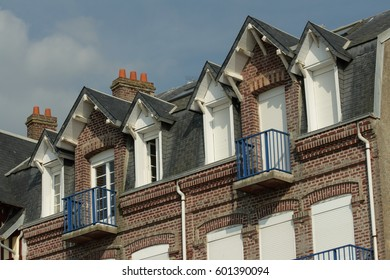 Typical house in Somme, Picardie in north of France