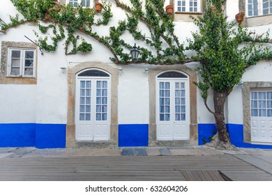 Typical house in the village of Obidos