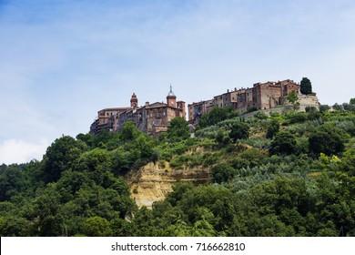 Typical Italian Landscape in Monteleone d'Orvieto - Umbria