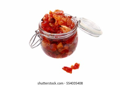 A typical jam from the Czech Republic with a name peceny caj - Shutterstock ID 554035408