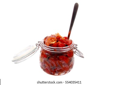 A typical jam from the Czech Republic with a name peceny caj - Shutterstock ID 554035411