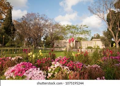 Typical Kibbutz, Israel